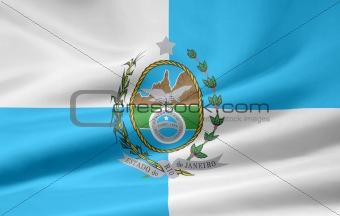 Flag of Rio de Janeiro - Brazil