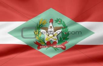 Flag of Santa Catarina - Brazil