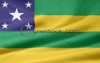 Flag of Sergipe - Brazil
