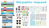 Web Designers toolkit series - Large collection of web graphics