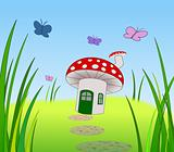 Toadstool Home