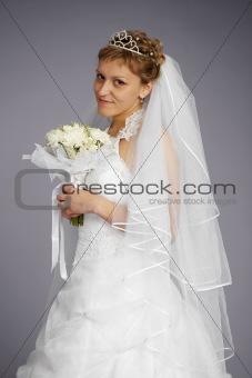 Formal portrait of beautiful bride