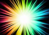 Light Sparkle with Rainbow Colors