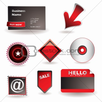 Business information concept