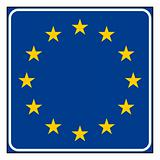 European Union road sign