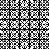 Seamless geometric lattice pattern.