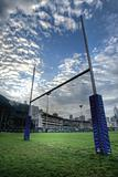 rugby goalposts