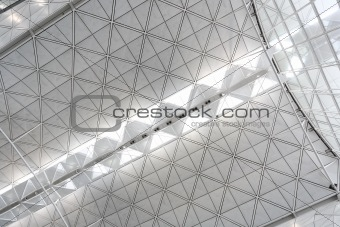 ceiling of Hong Kong International Airport