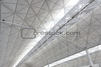 ceiling of Hong Kong International Airport