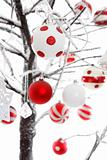 Christmas baubles ornaments decoration