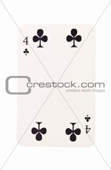 Four of clubs