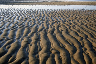 Ripples in sand