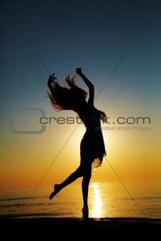 Dance at Sunset