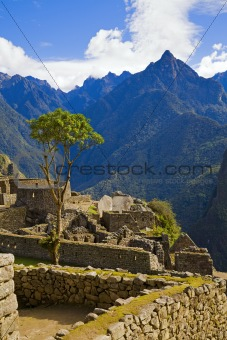 Houses of Machu Picchu