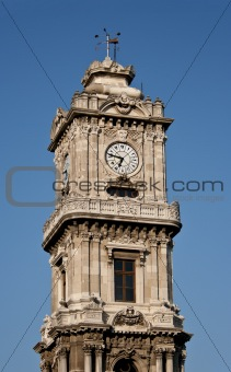 Clocktower of Dolmabahce Palace