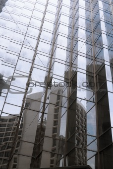 Abstract business buildings