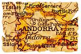 Andorra old map