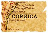Corsica old map