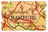 Hamburg old map