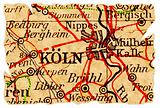 Cologne old map