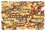 Stuttgart old map