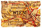 Vienna old map
