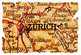 Zurich old map