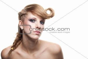 Beautiful blond portrait