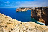 Cap, rock - coast at Portugal