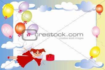 .Birthday frame