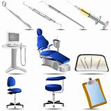 Dental icons set 3