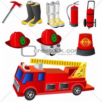 Fireman Icons