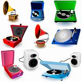 Gramophone Set