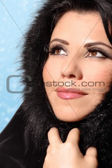 Woman Winter Beauty