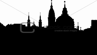 St Nikolas church - vector