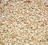 Closeup of oatmeal as background
