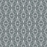 White-grey vintage seamless pattern