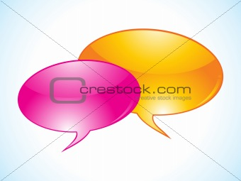 abstract chat icon