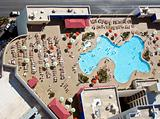 Public pool on the roof in Las Vegas