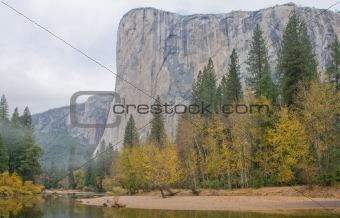Autumn Reflection in Yosemite