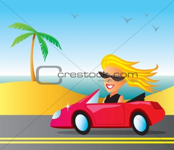 Cruising Girl