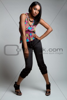 Black Fashion Model