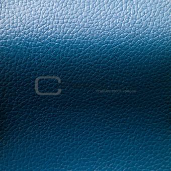 Blue Leatherette Background