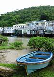Tai O fishing village with stilt house in Hong Kong