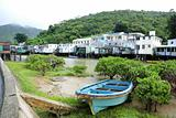 Tai O fishing village with stilt-house in Hong Kong