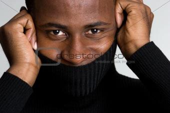 Turtleneck Sweater Man