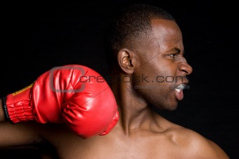 Boxing Man Punching