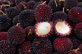 Buah Pulasan Fruit