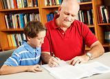 Homework Help From Dad