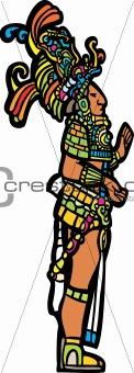 Standing Mayan Lord